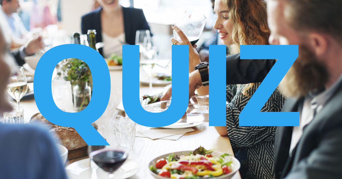 Är du en expert på reglerna kring interna konferenser? Testa dina kunskaper i vårt quiz.