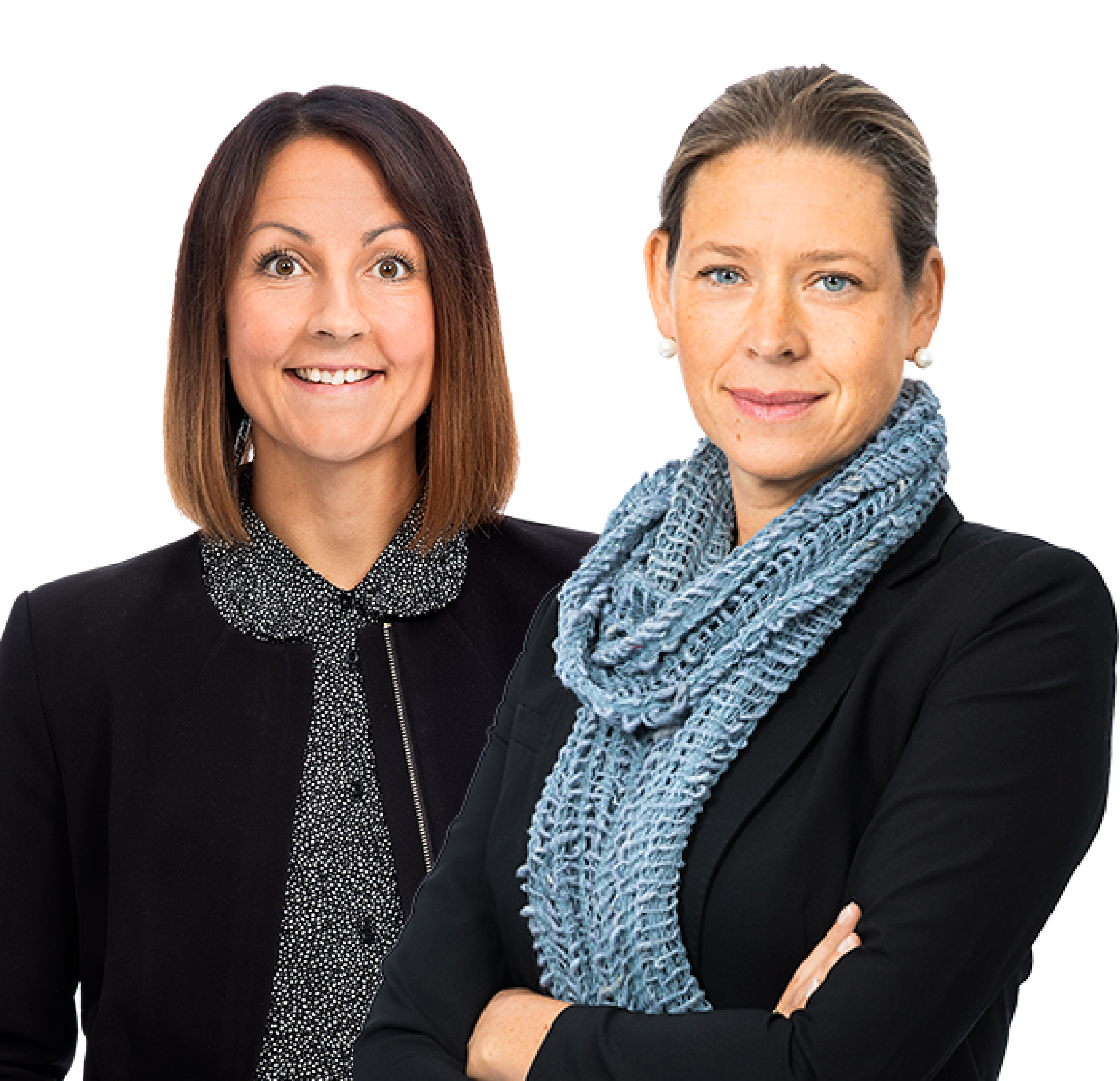 Mirja Lenes och Hanna Lagerkvist