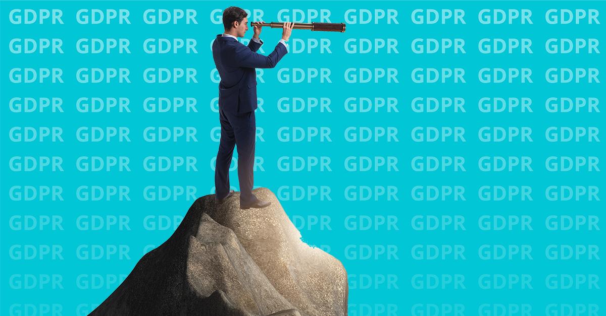 """VAD ÄR PÅ GÅNG FÖR GDPR? När kommer sanktionsavgifterna och vilka tillsynsområden är prioriterade framöver? Tholins HR-experter fanns på plats för Datainspektionens heldagskonferens """"Ett år med GDPR""""."""