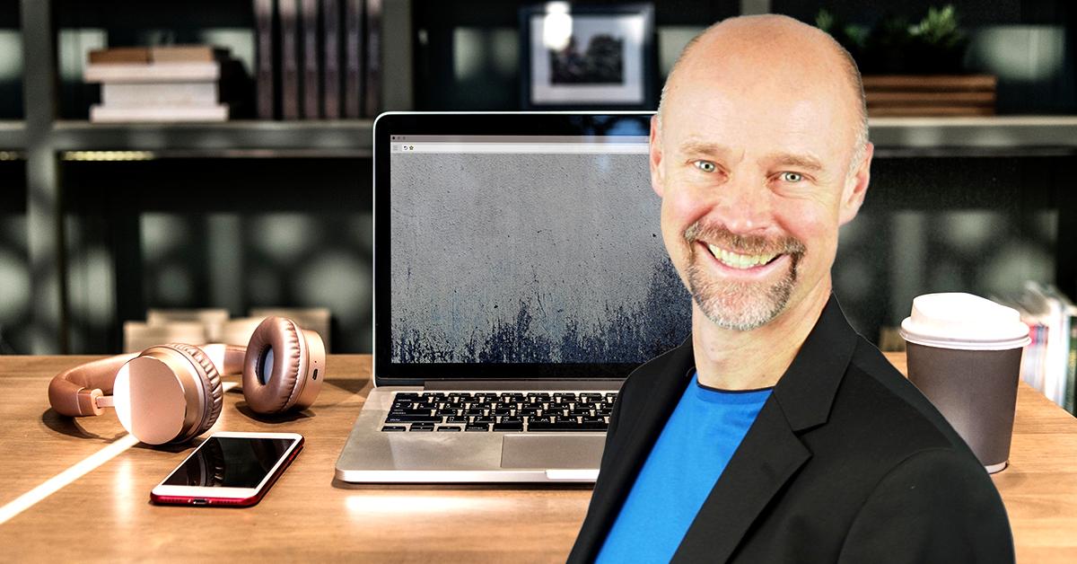 Jan Tern är föreläsare på årets HR-träff och kommer prata om motivation och arbetsglädje i en digital värld.