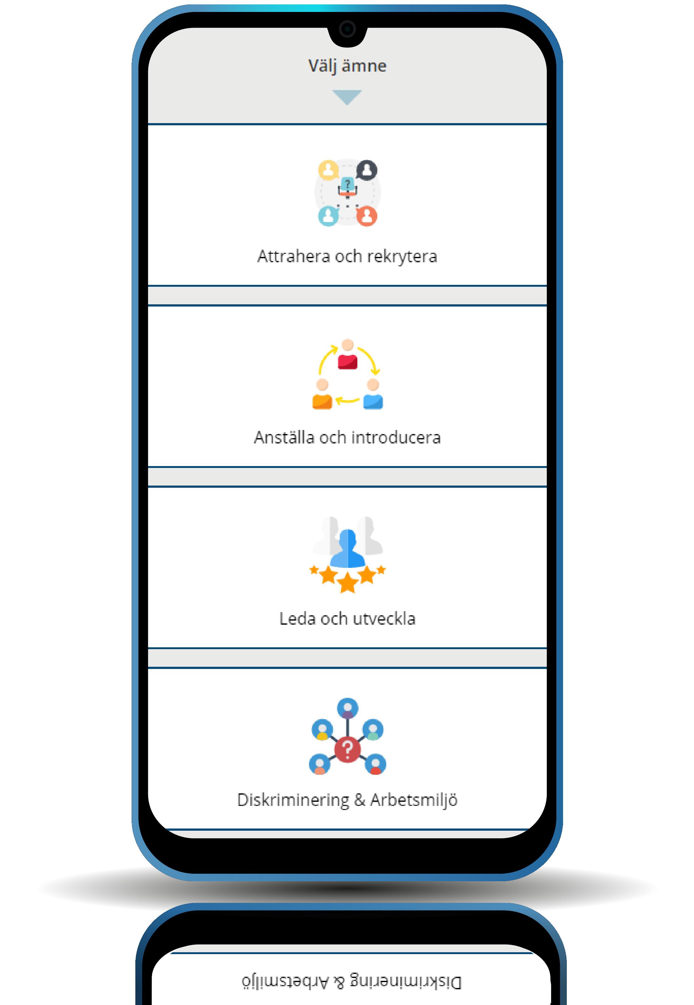Servicepaket HR i mobilen