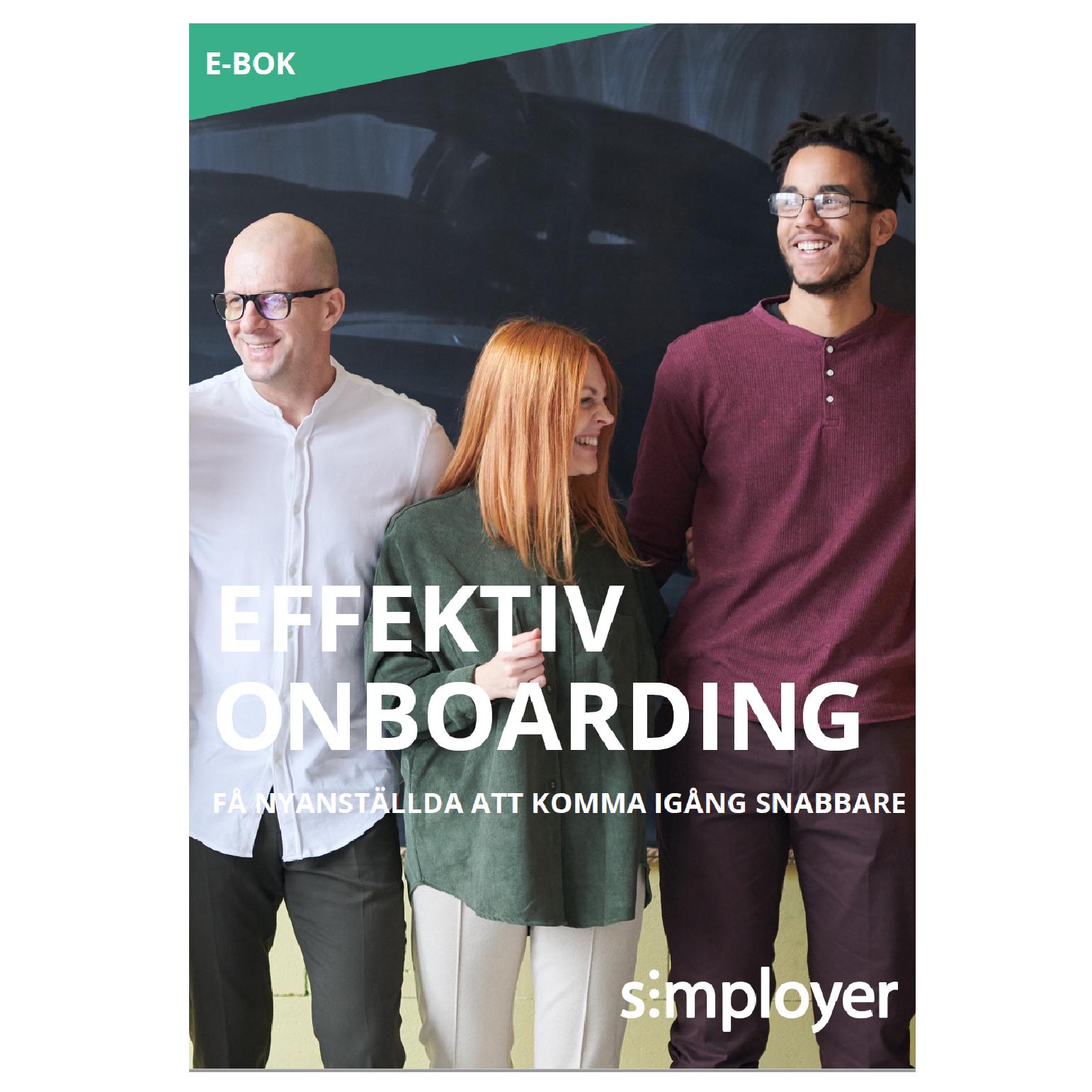 E-boken Effektiv onboarding