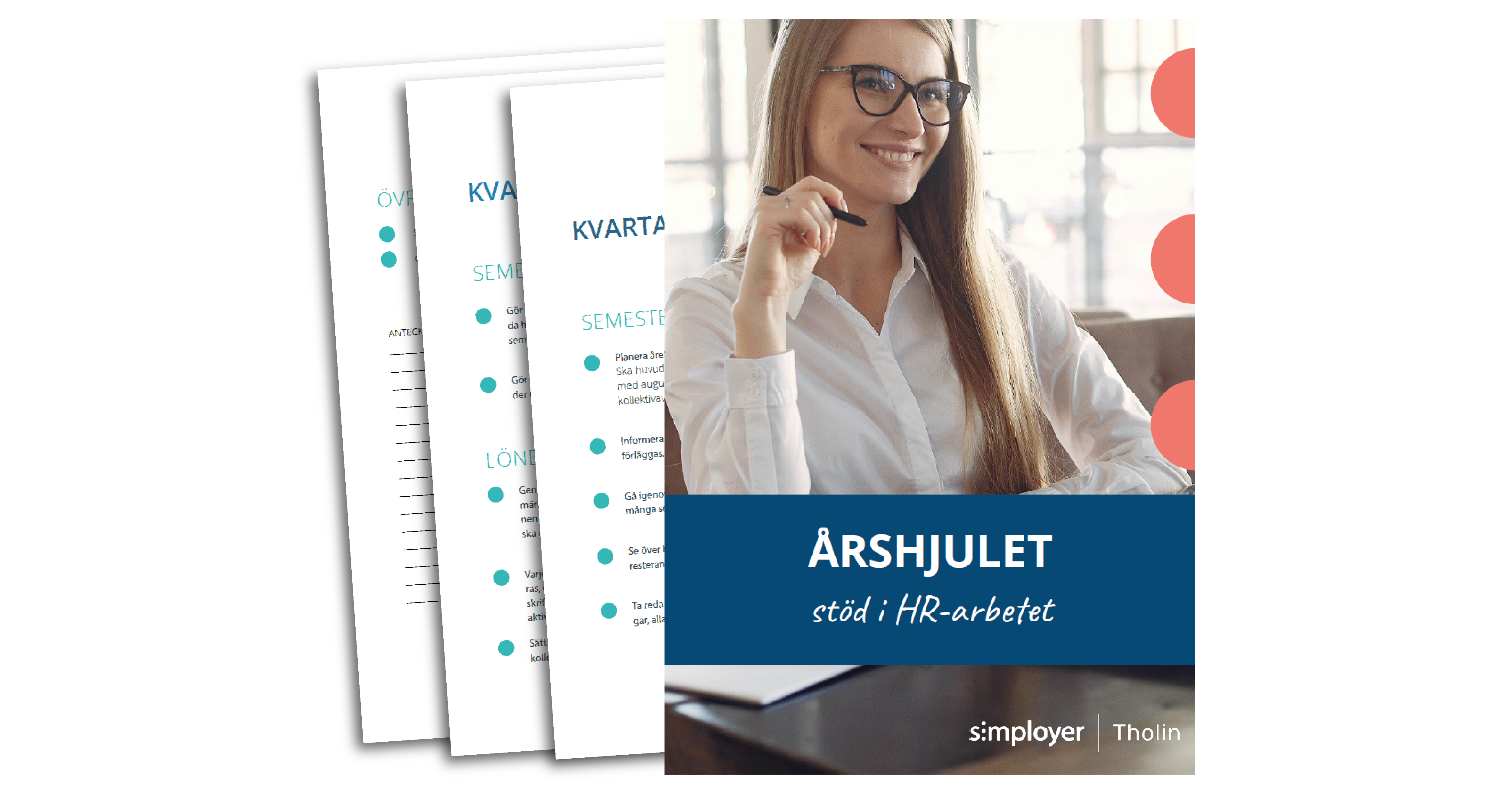 E-boken Årshjulet - stöd i HR-arbetet