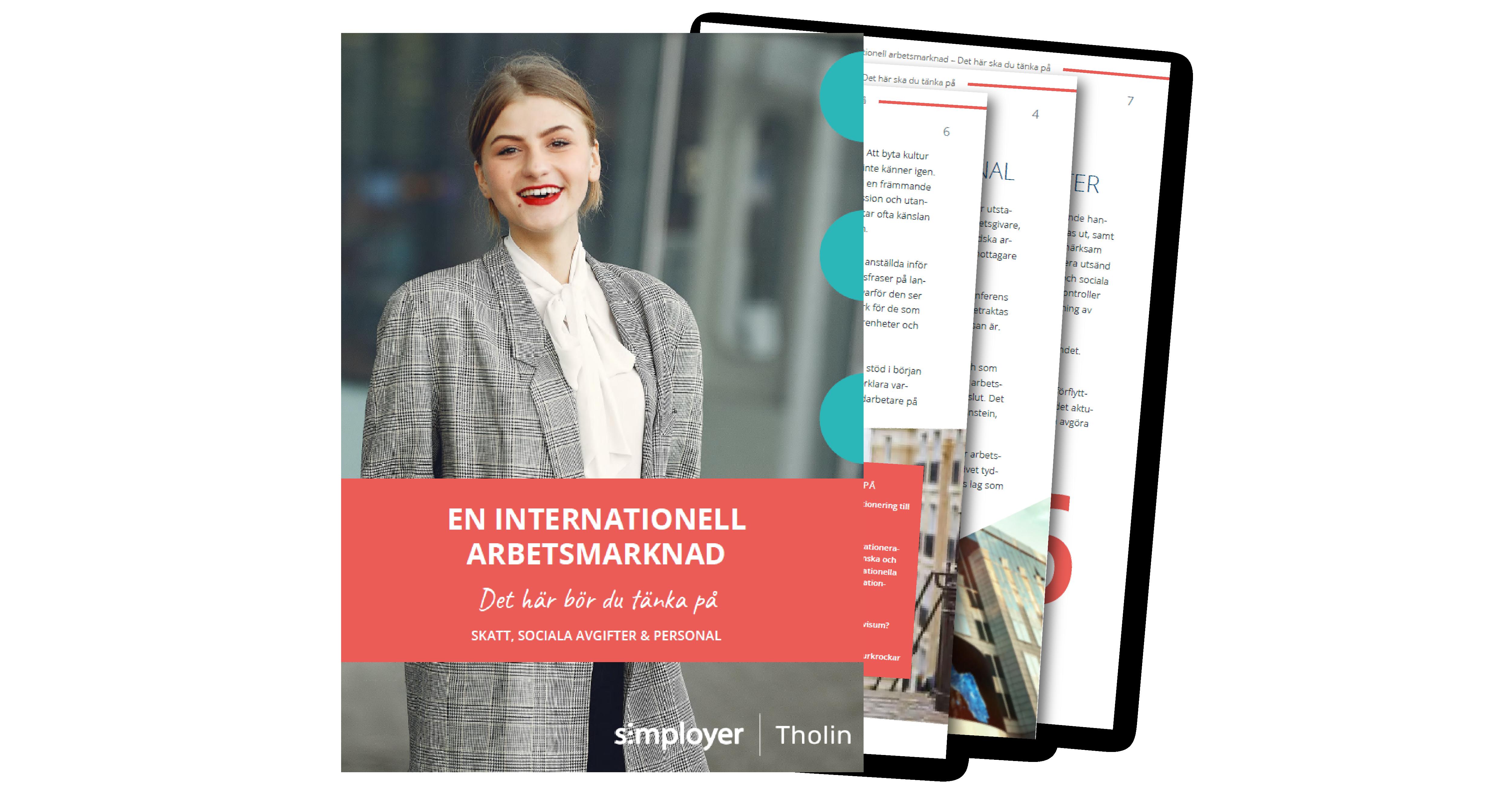 E-boken En internationell arbetsmarknad