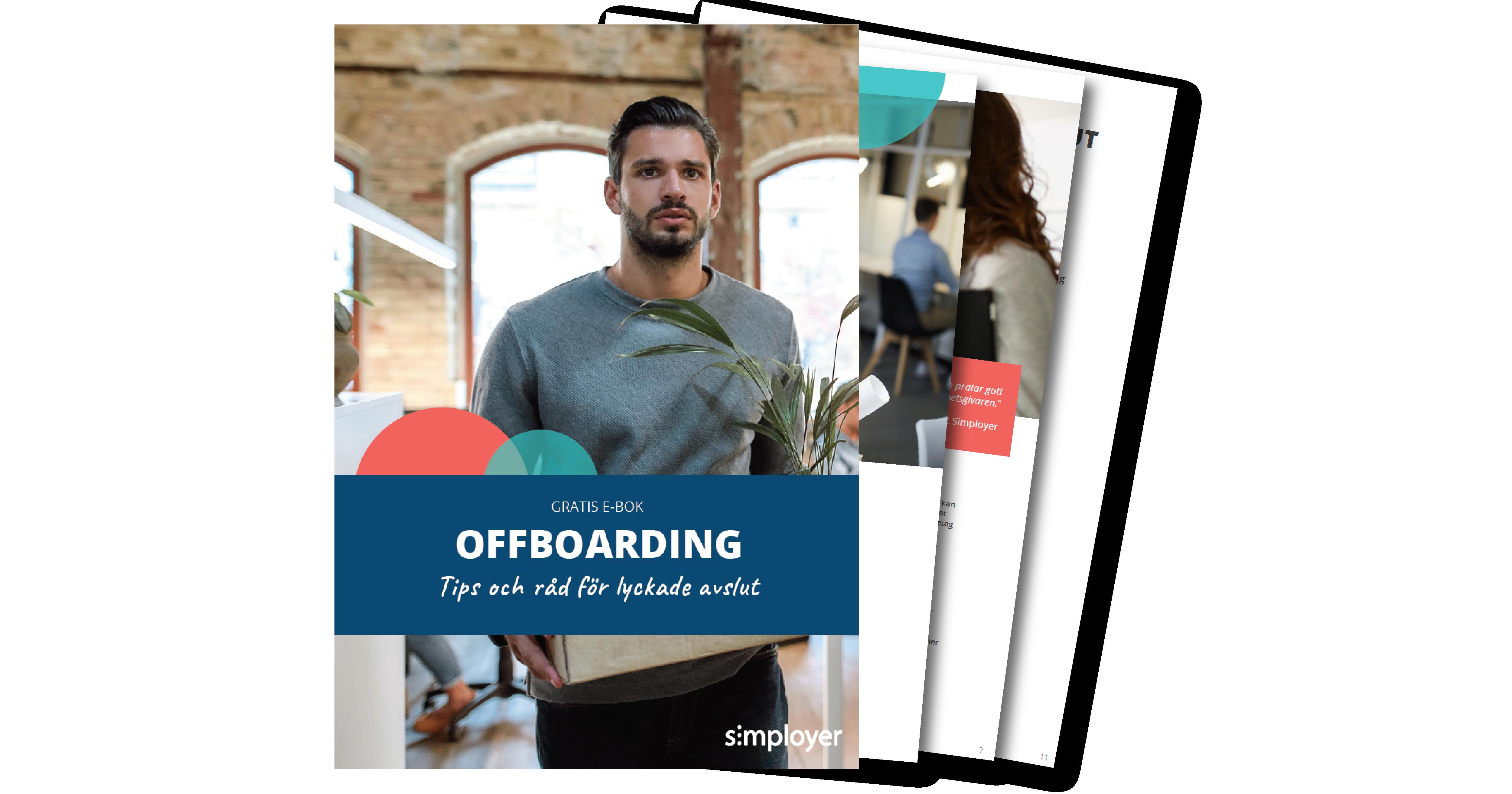 E-boken Offboarding - tips och råd för lyckade avslut