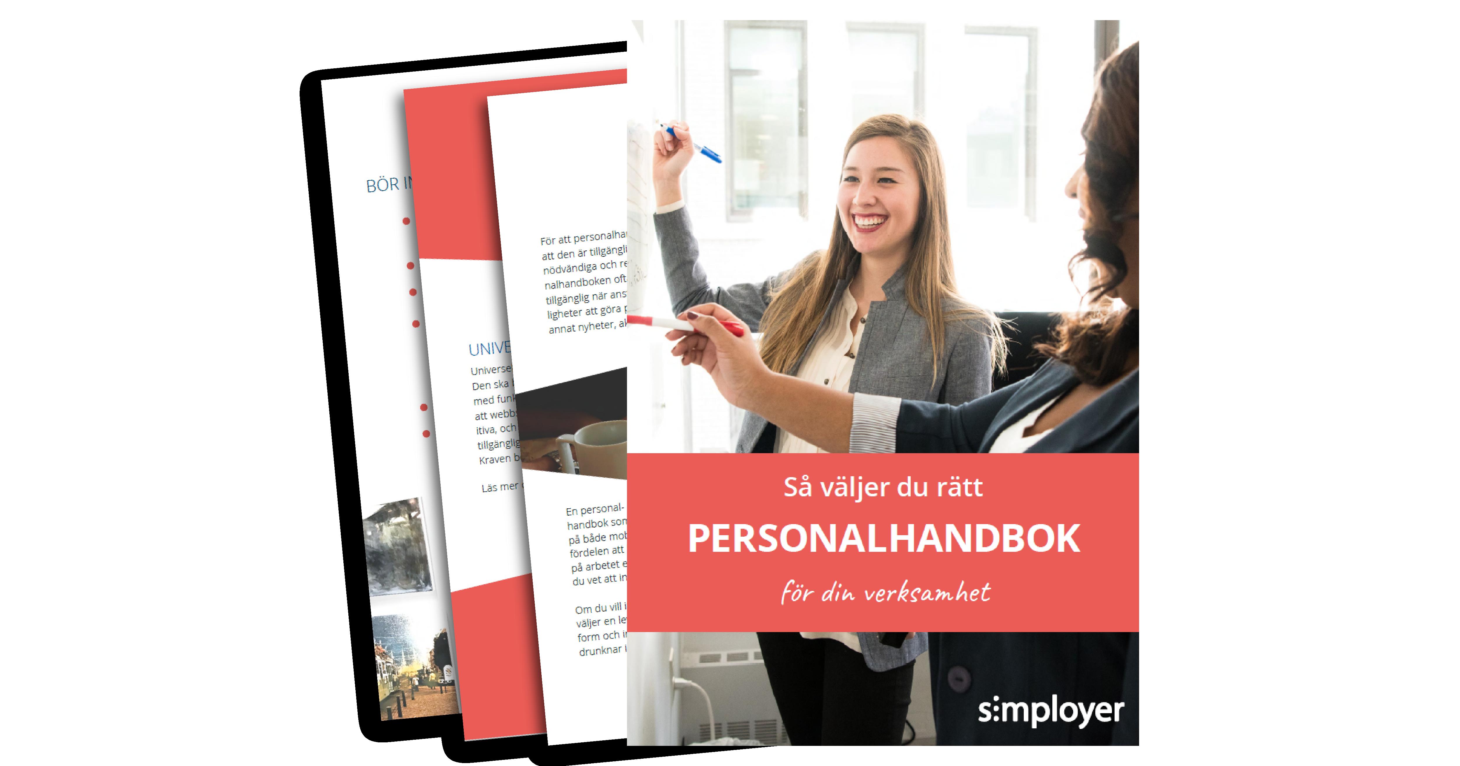 E-boken Personalhandbok